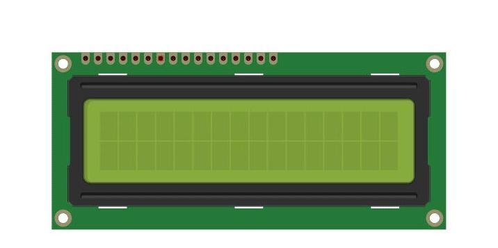 16X2 kijelző használata Raspberry Pi-vel
