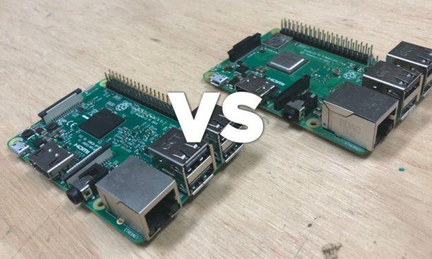 Raspberry Pi 3 Model B és B+ (Plus) összehasonlítása