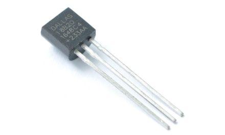 Hőmérséklet mérése 1-wire szenzorral