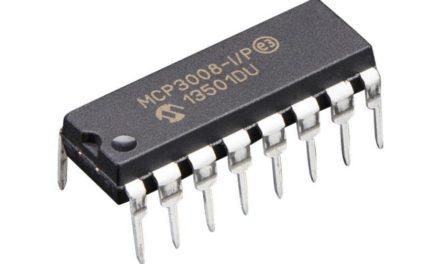 Analóg bemenet a Raspberry pi-hez – az MCP 3008