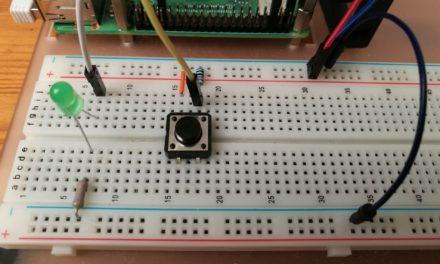 LEDek és nyomógombok az RPi GPIO portján