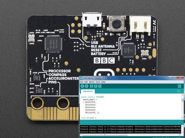 Micro:bit és az Arduino IDE