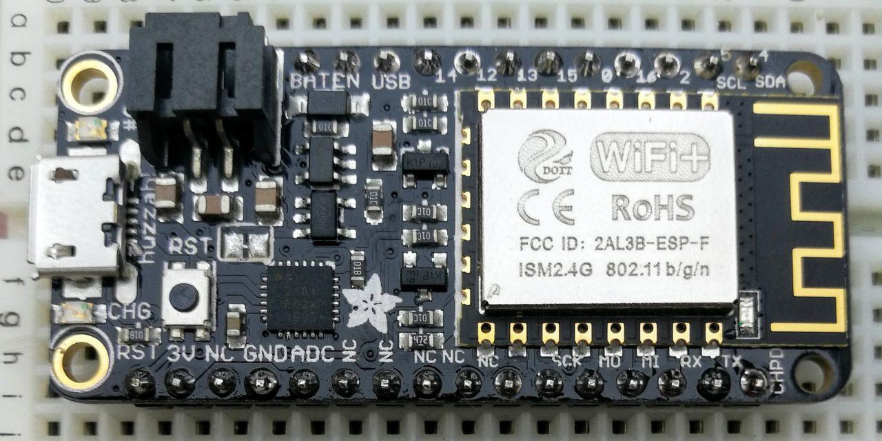 IoT alapú időjárás állomás – Huzzah ESP8266 – 1. rész