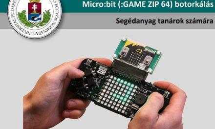 Micro:bit GAME ZIP 64 botorkálás