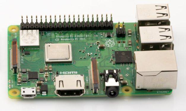 Bemutató: Raspberry Pi 3 Modell B+