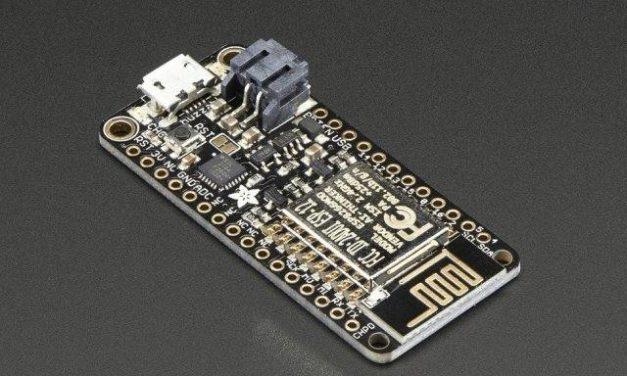 IoT alapú időjárás állomás – Huzzah ESP8266 – 2. rész