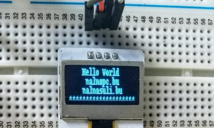 I2C-s kijelzők Raspberry Pi-hez – 1. OLED kijelző